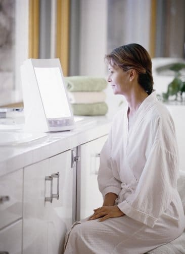 Using the NatureBright SunTouch Plus Light and Ion Therapy Lamp